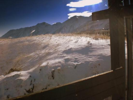 vue du balcon du B7
